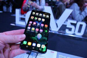 El nuevo smartphone LG V50 está preparado para el 5G